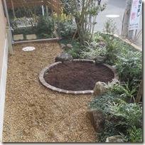 雑木に包まれた住まい ミニ菜園
