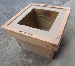 補修前の本炉壇