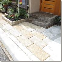 狭小な玄関先のプラン