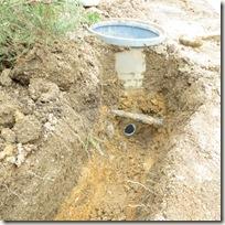 排水経路の確保