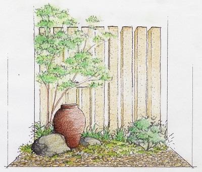 鑑賞本位の小庭