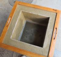 本炉壇補修 中塗り状況